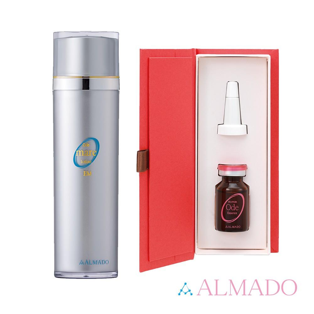 ALMADO璦蘭夢朵  夏日精華海泥潤膚水組(海泥潤膚水120ml+精華液15ml)
