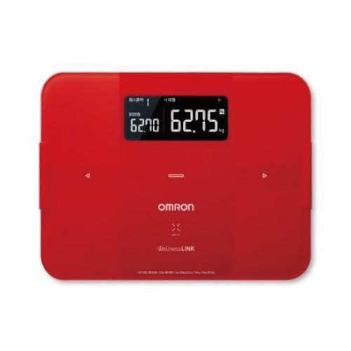 omron 歐姆龍 HBF-254C 桃紅色 第一台具連線功能體脂肪計 專品藥局
