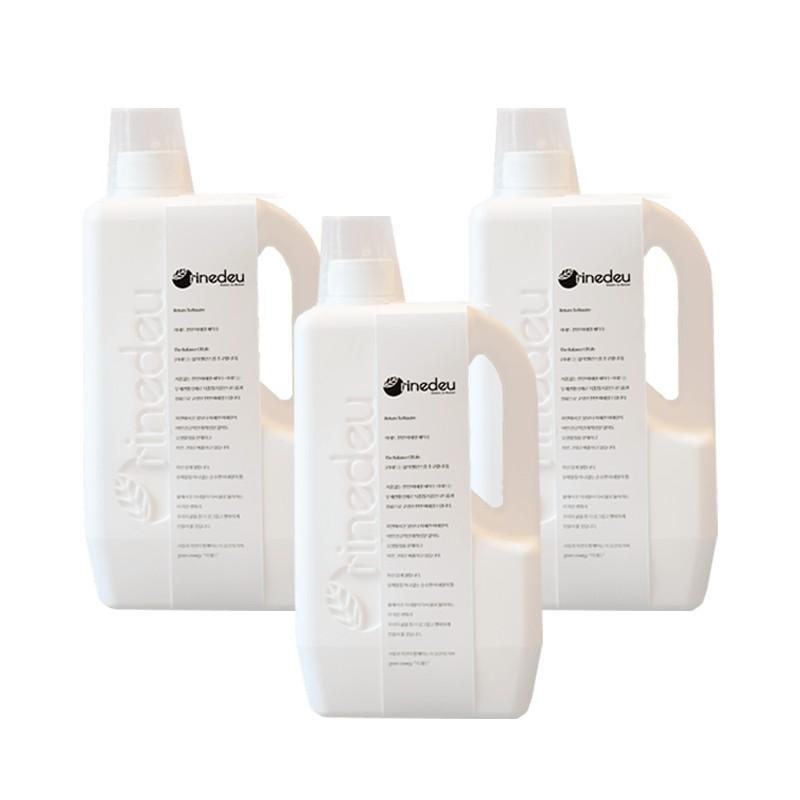 【Rinedeu礦速潔】韓國礦物負離子鹼性洗潔液-3件組 負離子|零化學添加|無界面活性劑|無香精毒性|無刺激