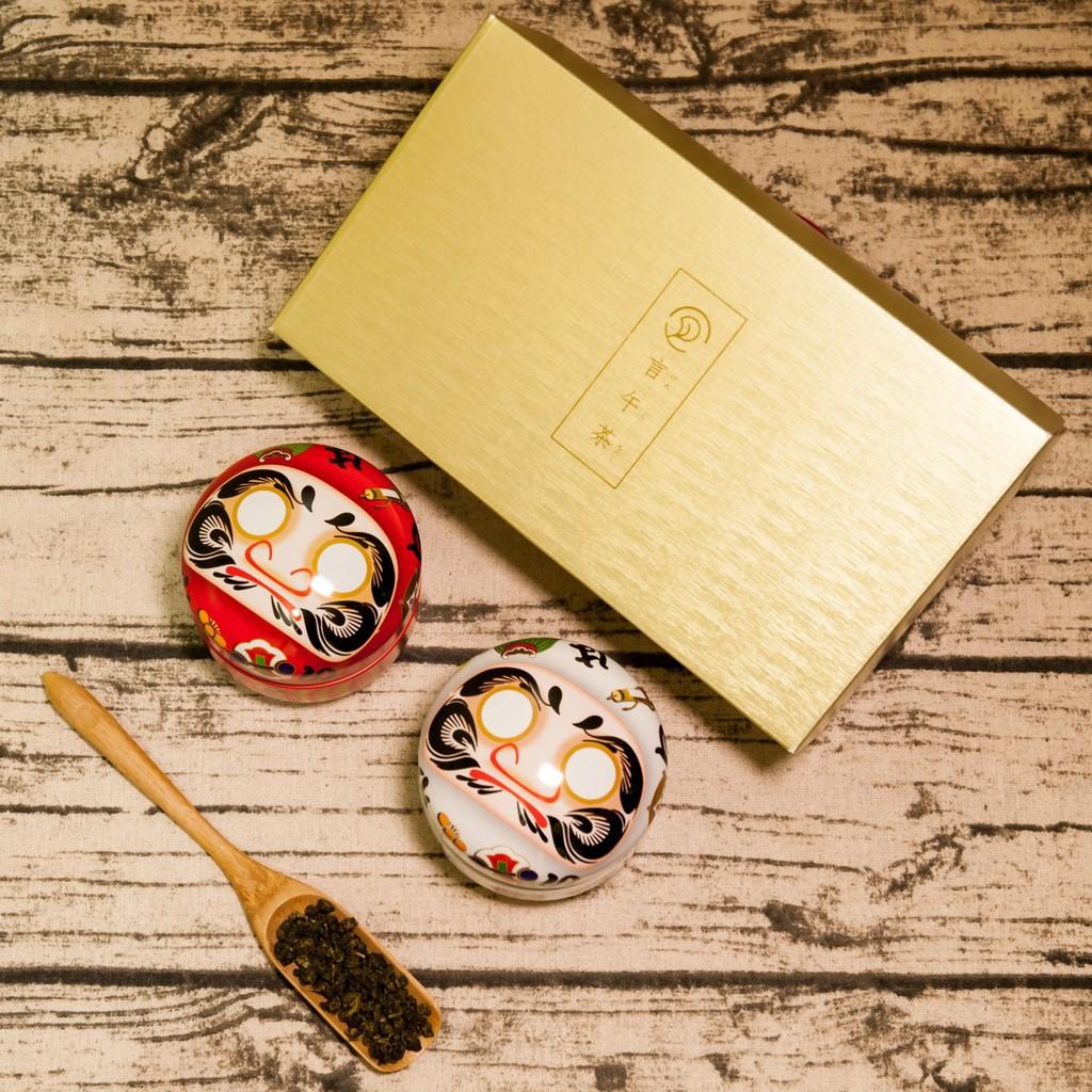 【言午茶】阿里山高山茶葉禮盒(2罐/組) 附贈多種款式日本茶罐