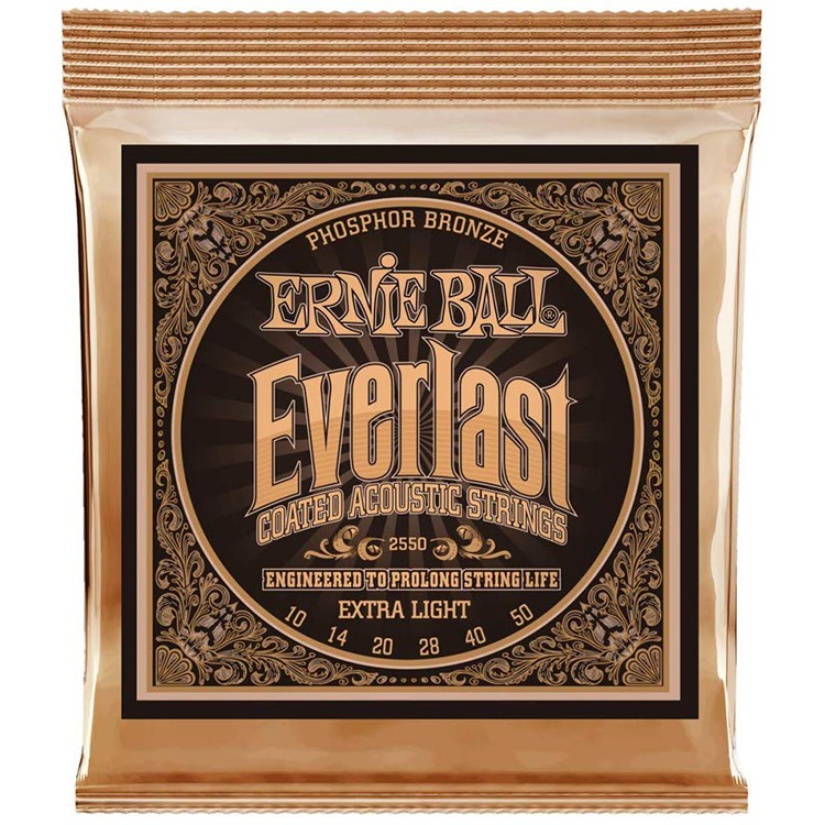 【全館折300】 Ernie Ball 2550 (10-50) 老鷹牌 民謠吉他弦 琴弦 防潮包裝 10 50 美國製