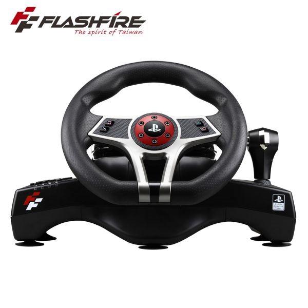 FlashFire HURRICAN WHEEL 颶風之翼 PS4 SONY授權賽車方向盤 遊戲方向盤【GAME休閒館】