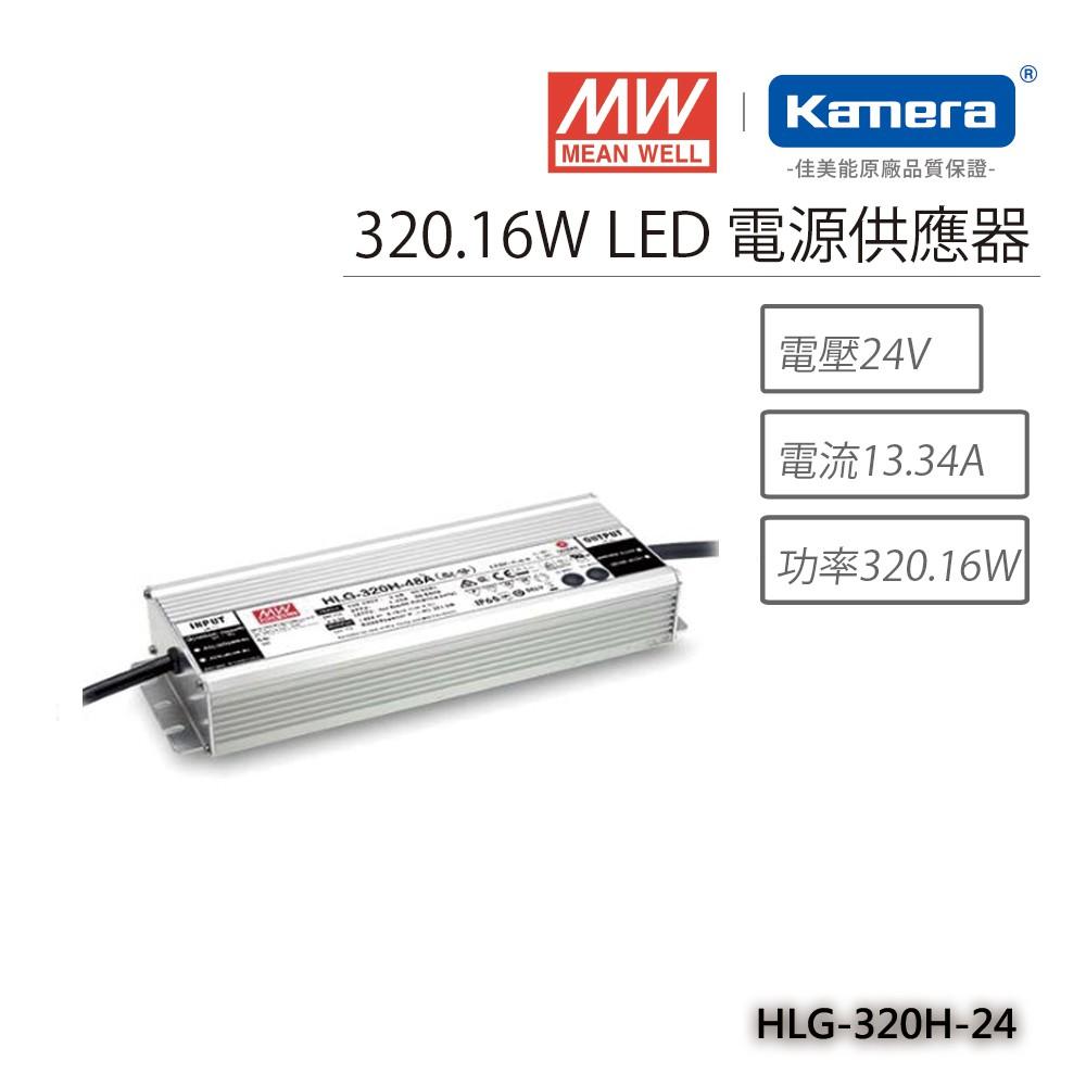 明緯 320.16W LED電源供應器(HLG-320H-24)