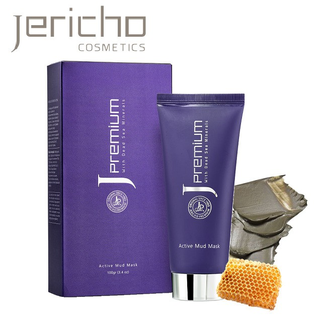 Jericho 白金級深層潔淨死海泥面膜 100g 去黑頭粉刺面膜 深層清潔泥膜 死海泥面膜 經典泥面膜 白皙面膜