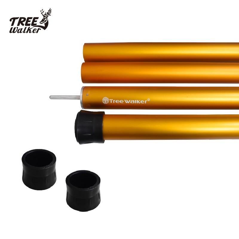 【Treewalker露遊】33mm營柱底套 營柱保護套 橡膠底套 橡膠保護套 營柱專用 天幕桿平頭套 底墊 帳篷配件