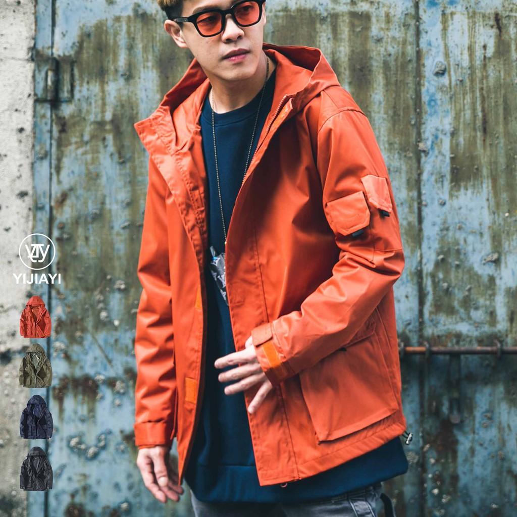 《預購7天》【YIJIAYI】 超帥防風防水 美式多口袋工裝外套【A廠】(A-88951)