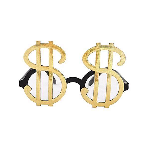 派對城 現貨 【向錢看齊眼鏡1入】 歐美派對 派對裝飾 裝飾眼鏡 造型眼鏡生日派對 小玩具 派對佈置 拍攝道具
