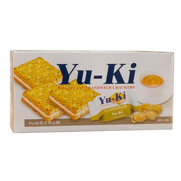 Yu-ki花生夾心餅150g  【大潤發】