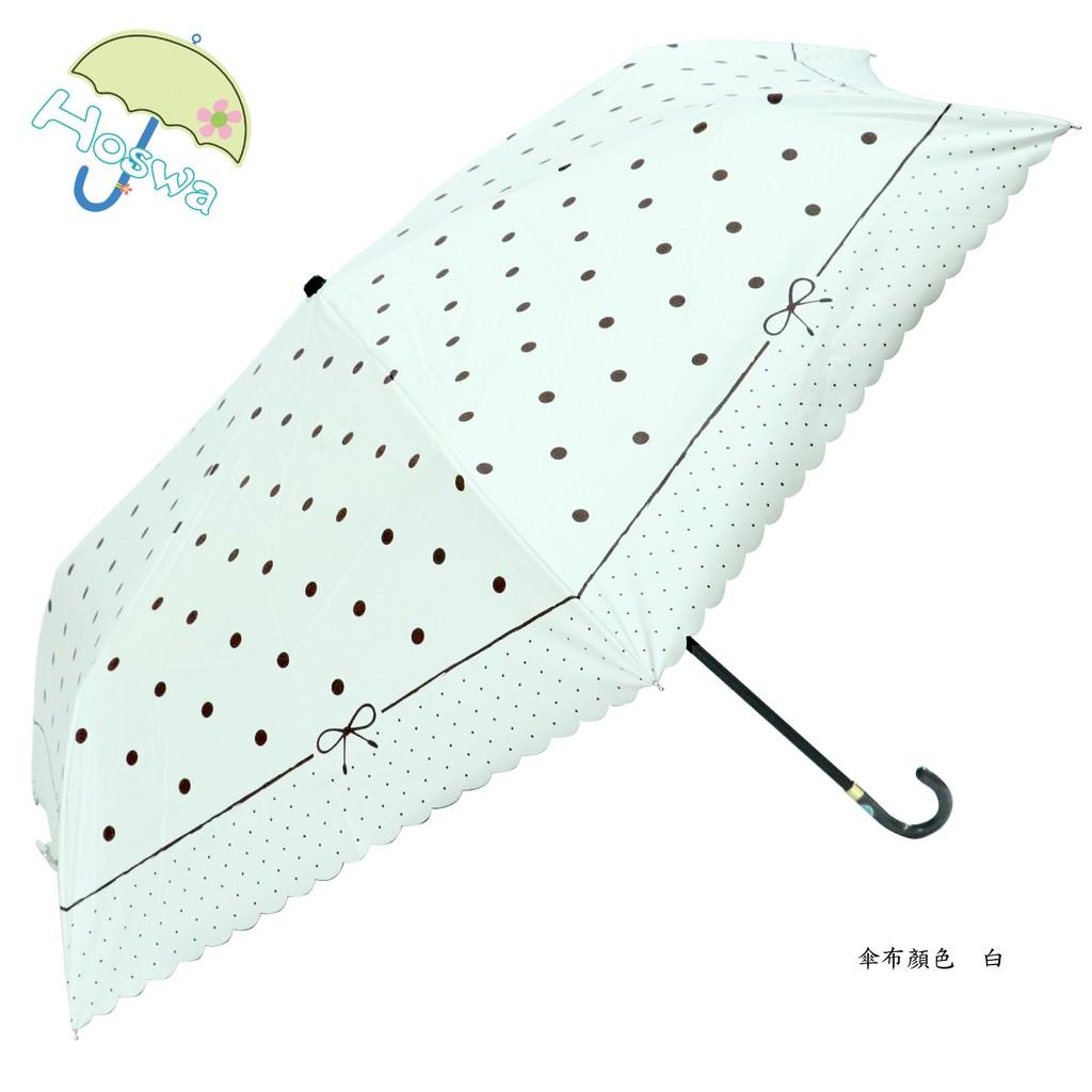 【Hoswa雨洋傘】 炫麗水玉超輕量手開折傘 折疊傘雨傘陽傘 抗UV 防風 防曬 降溫 品牌時尚設計/非 反向傘 日本風