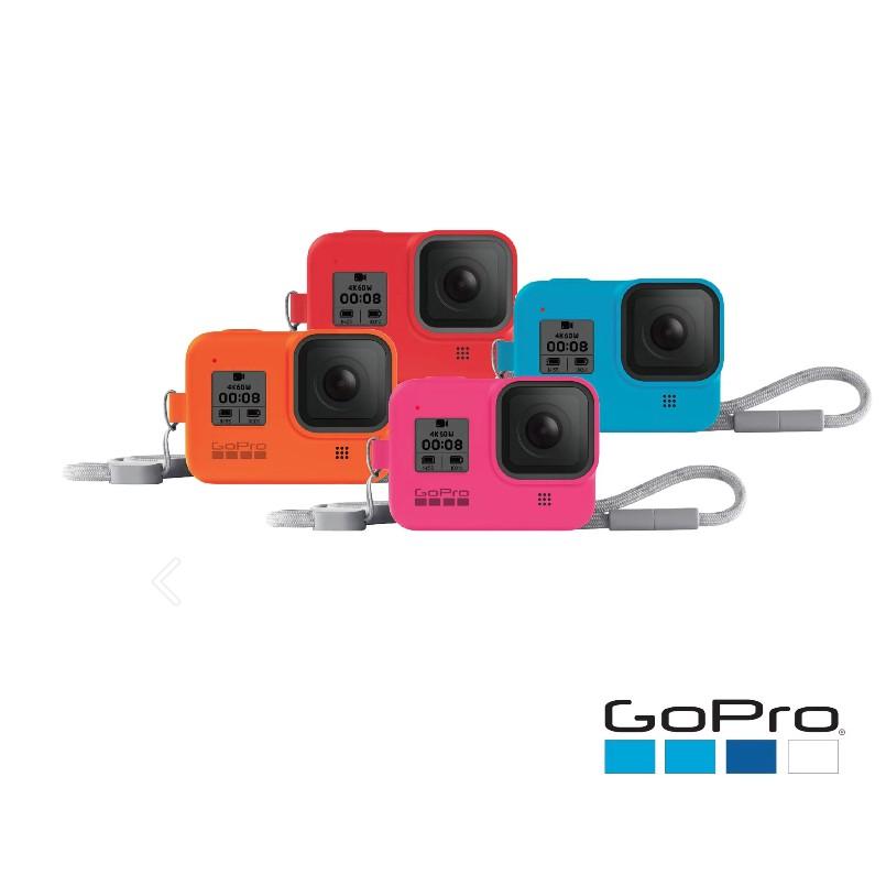 GoPro AJSST 原廠 hero8 護套+繫繩 果凍套【eYeCam】保護套 矽膠套 HERO8果凍套 矽膠