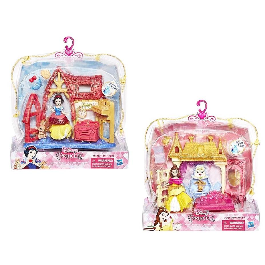 Disney 迪士尼 迷你公主小型扮家家酒遊戲組 - 白雪公主 貝兒