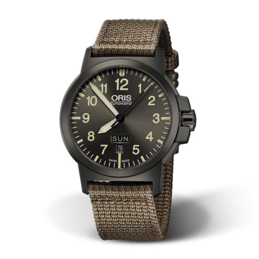 ORIS豪利時 0173576414263-0752222G / BC3腕錶 / 42mm