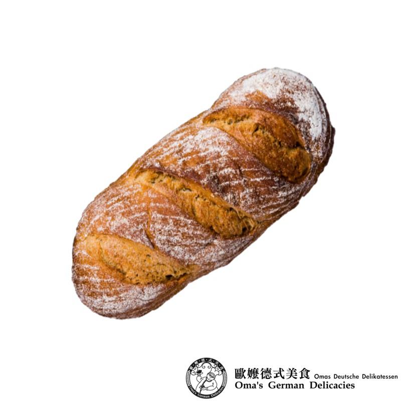 【歐嬤】無油無糖 60%黑裸麥麵包
