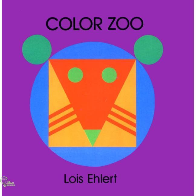 Color Zoo (硬頁書) 廖彩杏老師推薦有聲書第17週【禮筑外文書店】[79折]