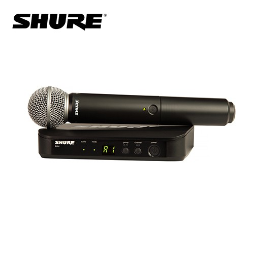 Shure BLX24/SM58 無線麥克風組 系統搭配 SM58 麥克風【敦煌樂器】