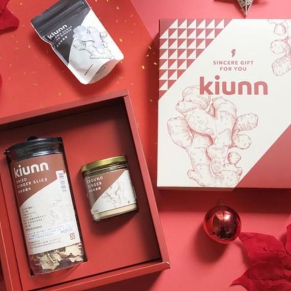 Kiunn 原味老薑禮盒 原味烘焙老薑片 原味薑粉