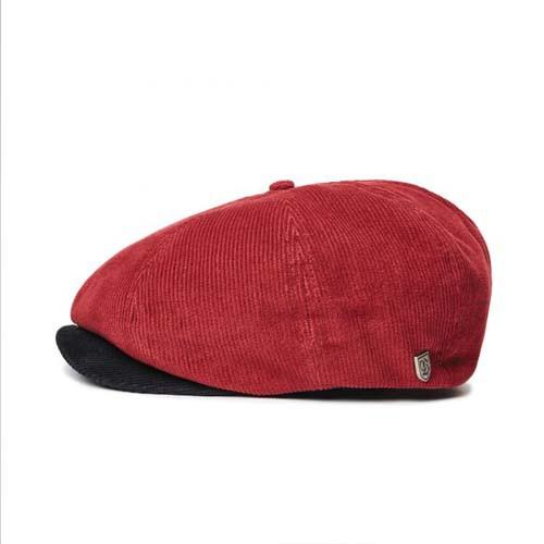 Brixton Brood 報童帽 (紅燈心絨)《Jimi Skate Shop》