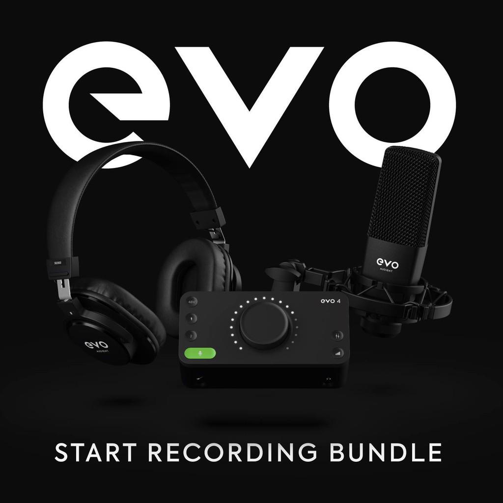 Audient EVO Start Recording Bundle 新手錄音套組 含錄音軟體
