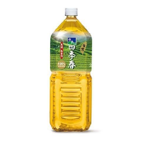 悅氏 四季春茶(2000ml/瓶(無糖))[大買家]