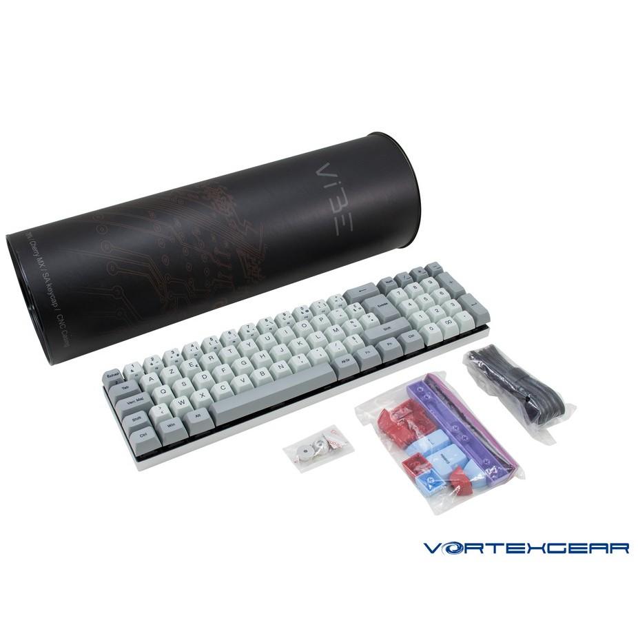 【Vortexgear】ViBE 78% SA PBT熱昇華鍵帽 CNC 機械鍵盤Cherry Mx