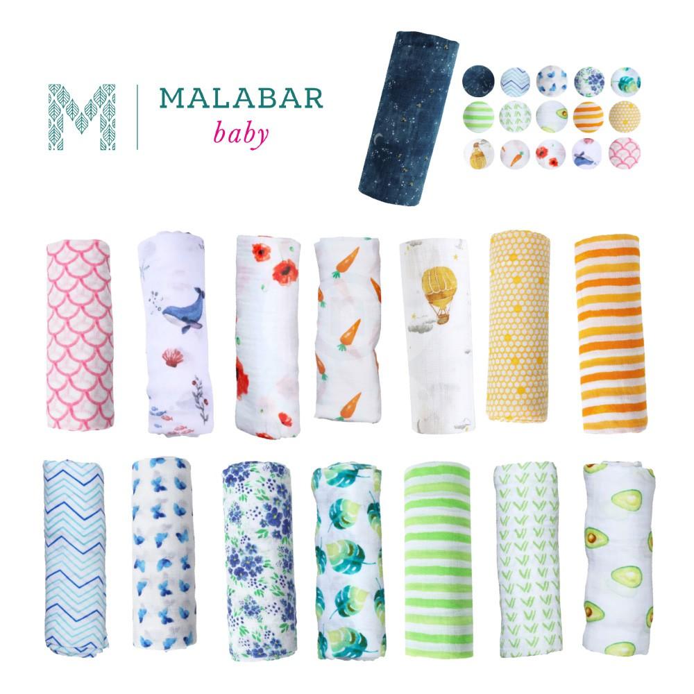 美國 Malabar baby 有機棉包巾【多款花色可選】