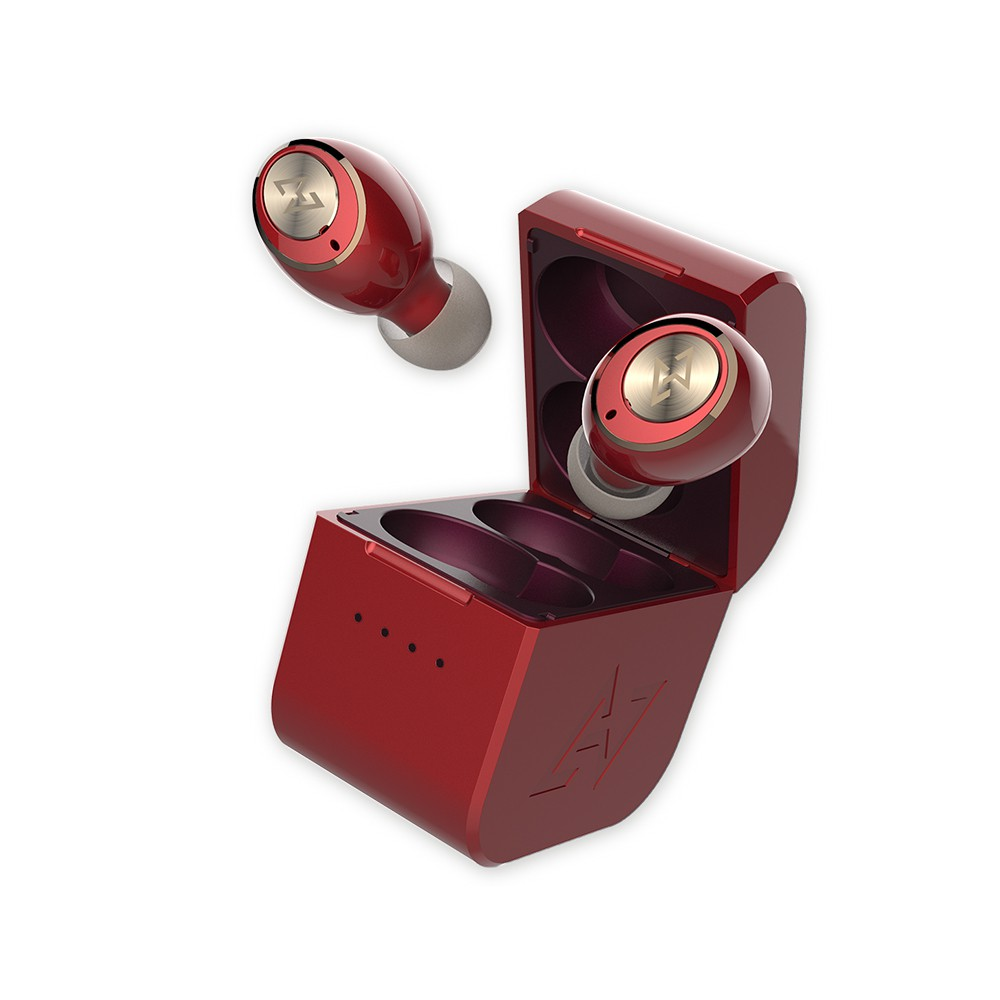 AVIOT真無線藍牙耳機TE-D01g-紅