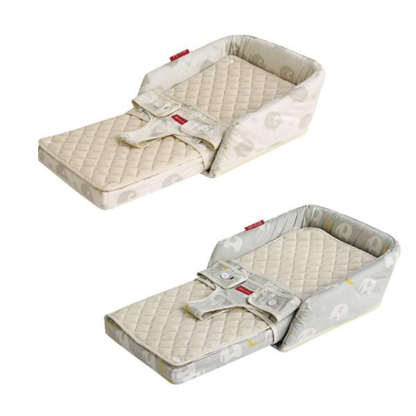 日本 farska 安心守護多功能床中床(成長型-附固定帶)(兩款可選)40X70X17【麗兒采家】