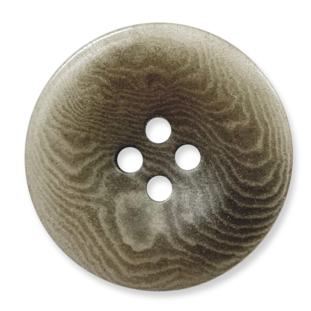 象牙果實釦 COROZO /4孔/ 6726 03號色/ 10顆/組 西服鈕釦 月亮岩灰