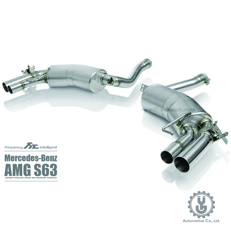 FI 高流量帶三元催化頭段 當派 排氣管 賓士 BENZ W463 G63 AMG 2014+ 底盤【YGAUTO】