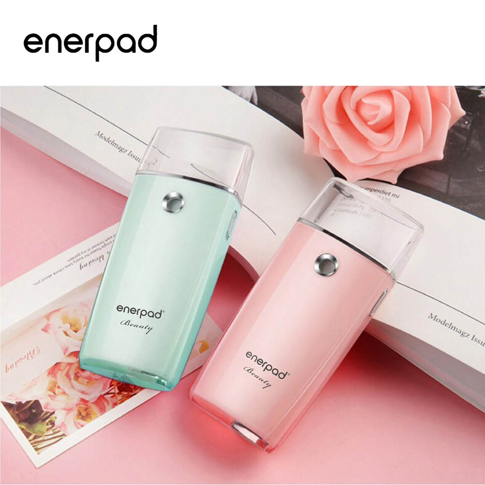 【enerpad】奈米噴霧補水美容儀-粉/藍 兩色可選  限時最低5折起 (M3000/M-3000)