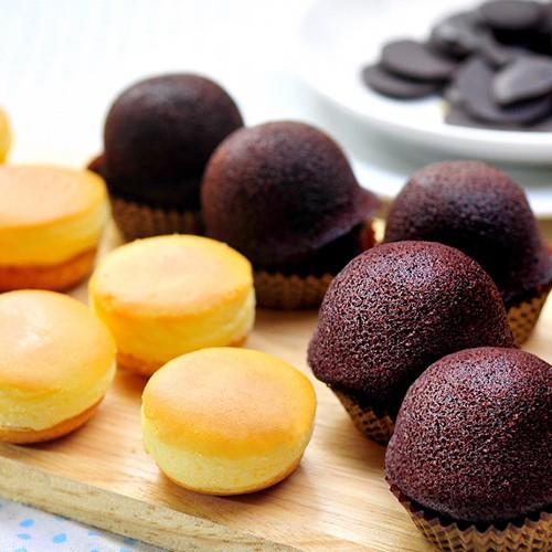 【大溪杏芳食品】布朗尼4盒(12入/盒)+乳酪球4盒(32入/盒)(含運)