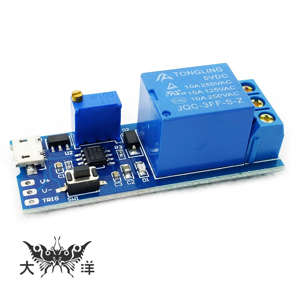 5-30V觸發延時繼電器模組 1372 大洋國際電子