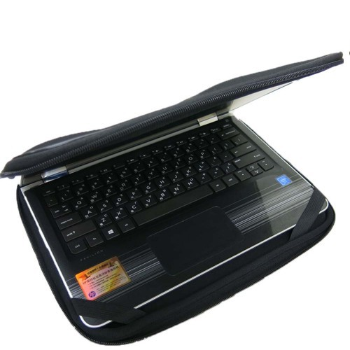 【Ezstick】HP Pavlion x360 11-u0xxTU 12吋寬 NB保護專案 三合一超值防震包組