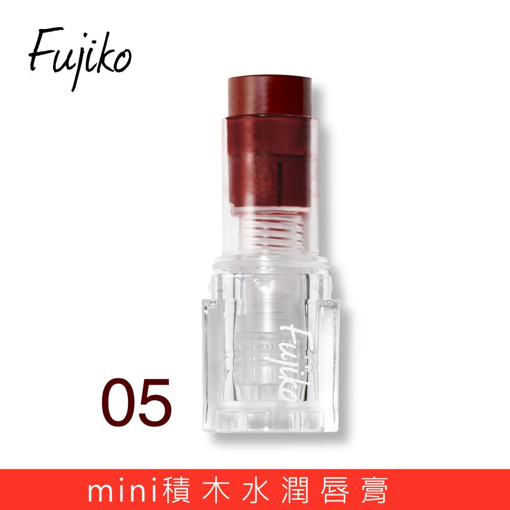 Fujiko mini積木水潤唇膏05【康是美】