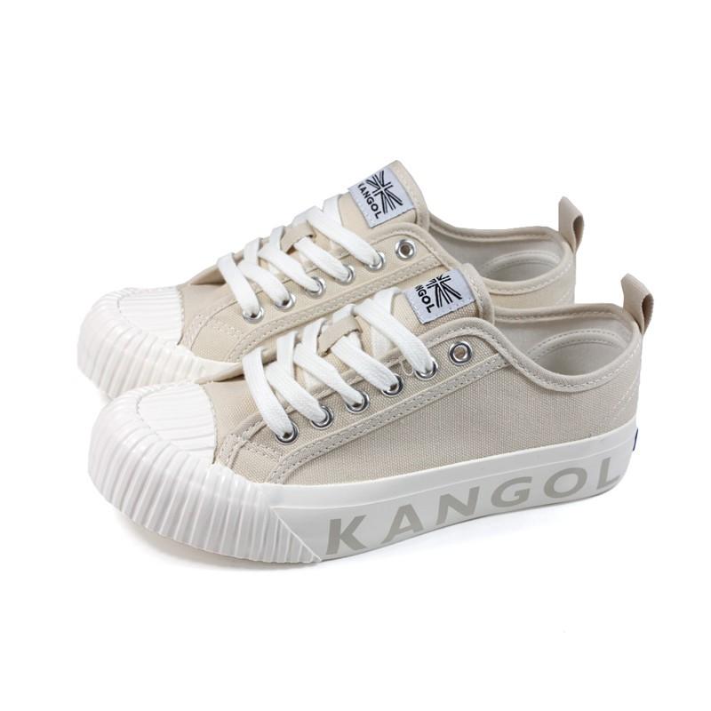 KANGOL 休閒鞋 帆布鞋 女鞋 卡其色 61221160131 no163