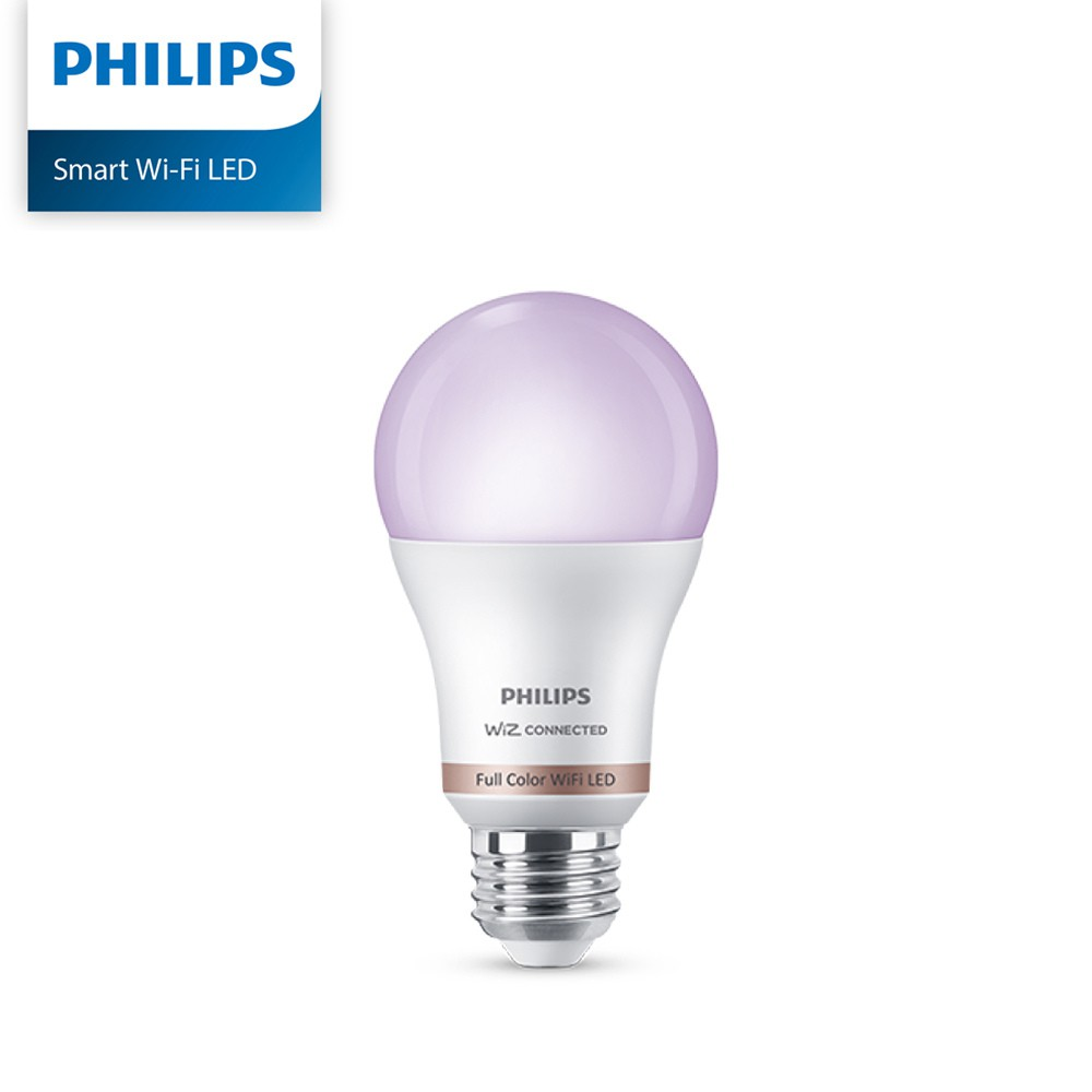 Philips 飛利浦 Wi-Fi WiZ 智慧照明 全彩LED球泡