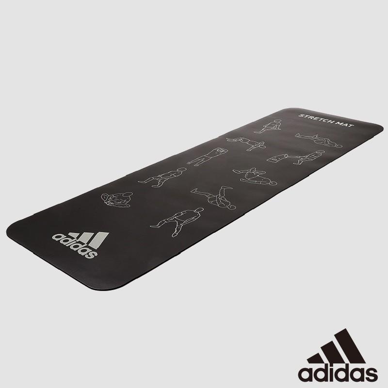 【福利品-盒損新品】adidas 瑜珈墊/健身墊/伸展墊 (6mm) ADMT-12237