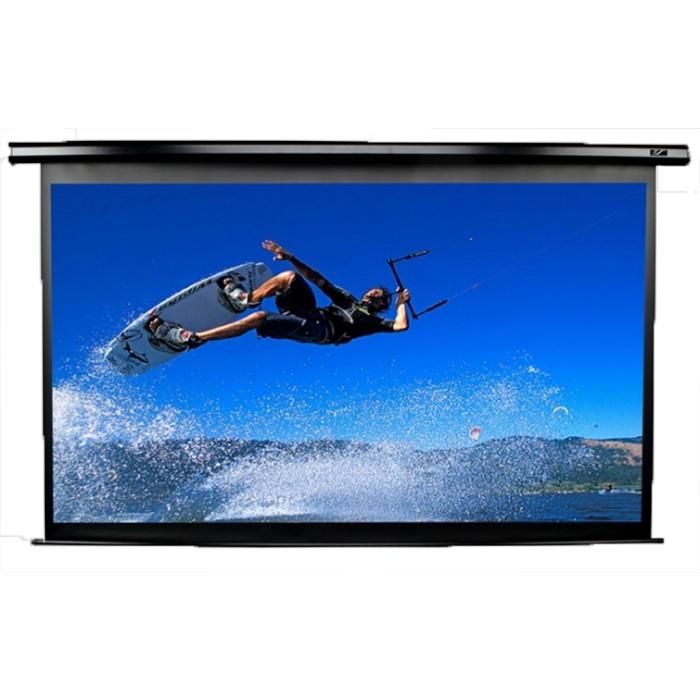 億立 Electric120H-E12 120吋 16:9基本款經濟型電動幕 蓆白/側掛馬達電動幕《名展影音》