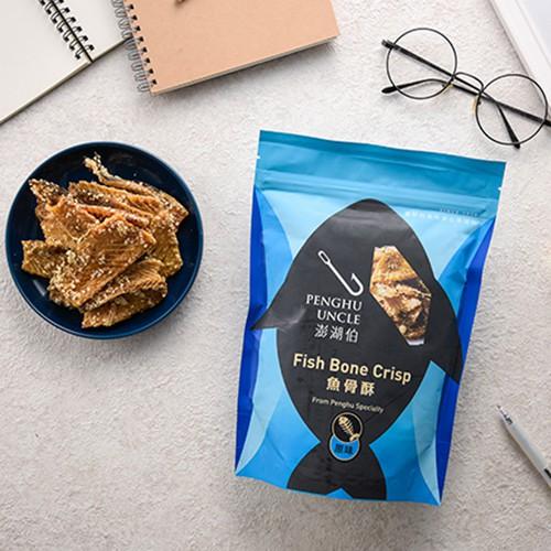 【澎湖伯】魚骨酥  (原味/蔥味/辣味) 120g(即期)