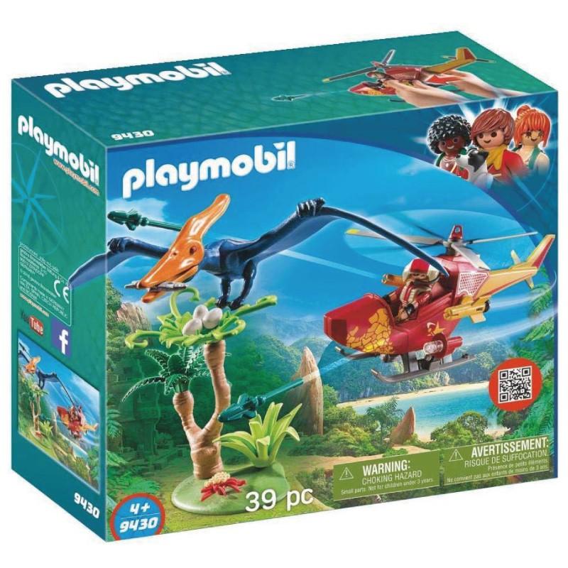 playmobil 摩比人 恐龍與直升機 9430 玩具反斗城