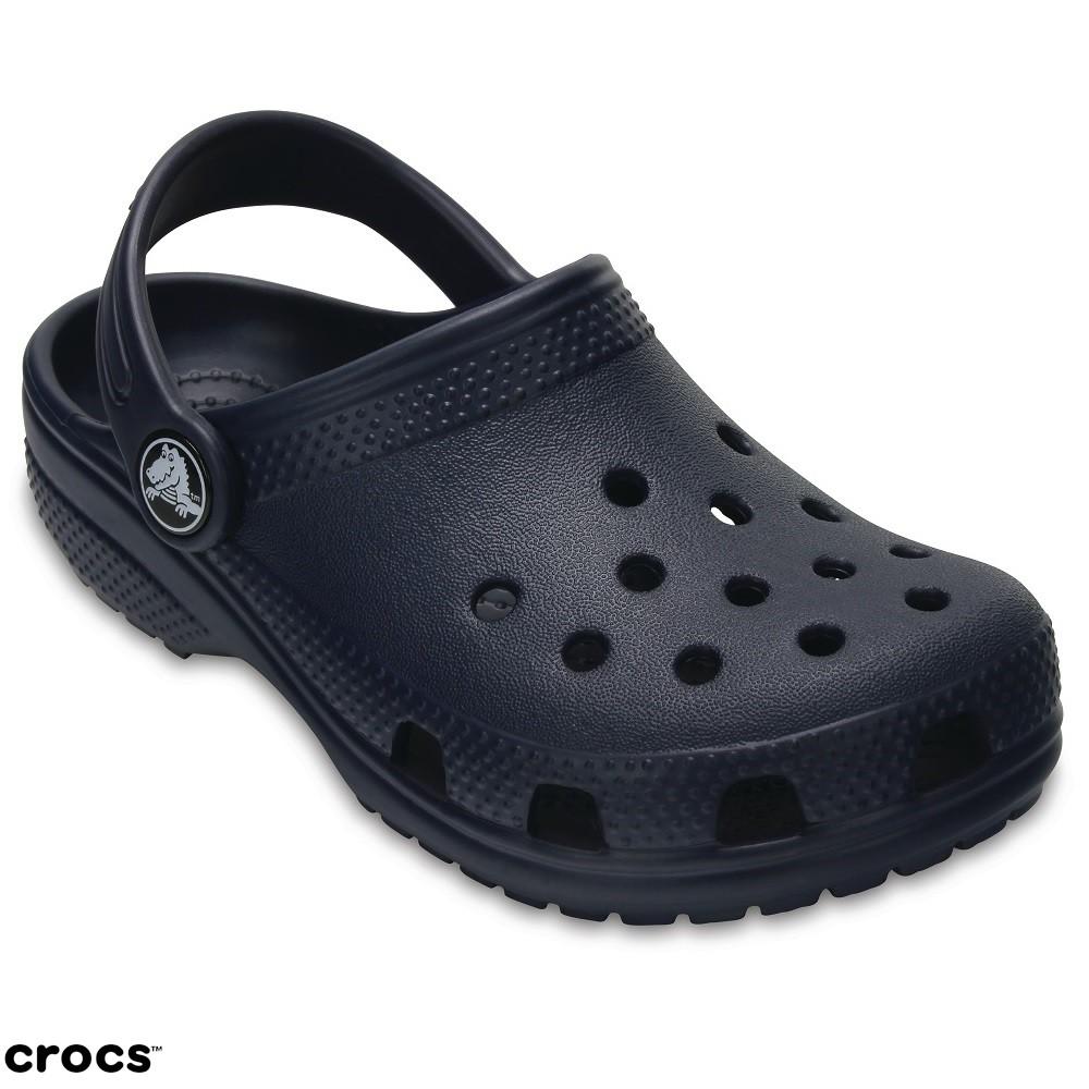 Crocs卡駱馳 (童鞋) 經典小克駱格-204536-410