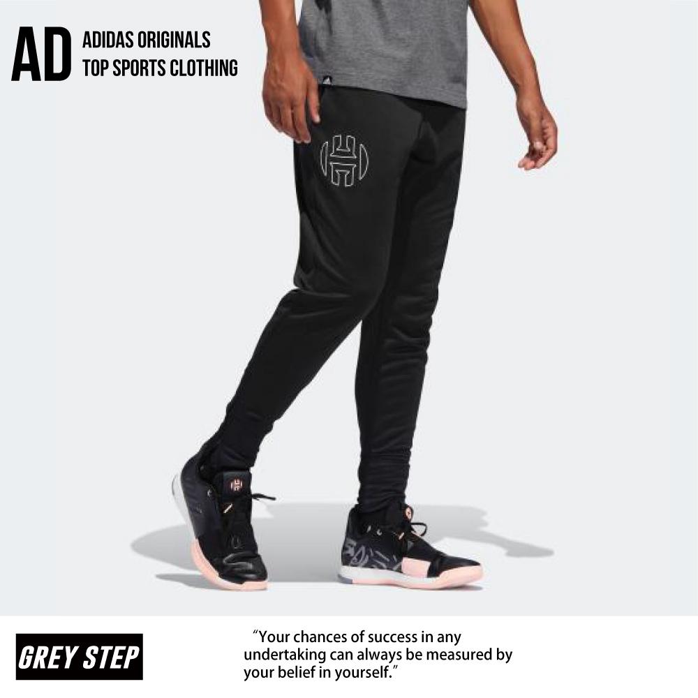 ADIDAS 愛迪達 Harden 運動長褲 籃球長褲 長褲 黑色 DP5728 全新正品 統一發票