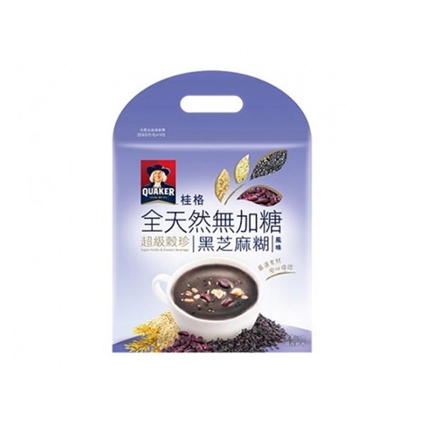 桂格全天然超級穀珍黑芝麻糊風味  【大潤發】