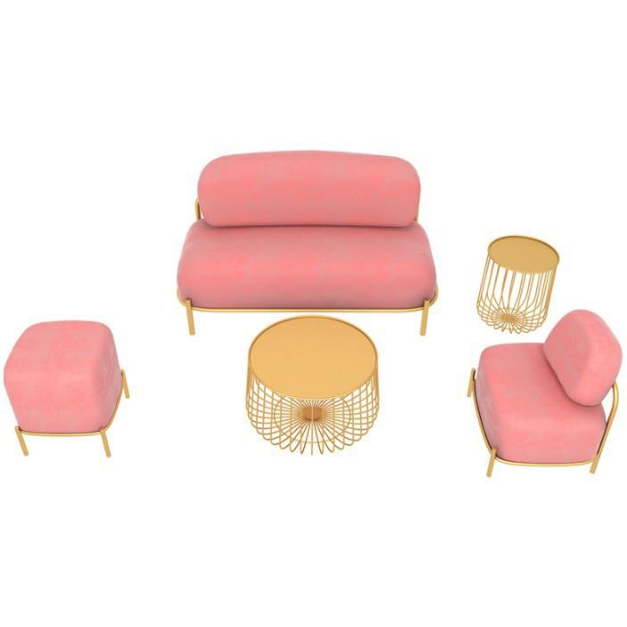 北歐小沙發 雙人沙發 服裝店沙發 組合沙發/可開超取
