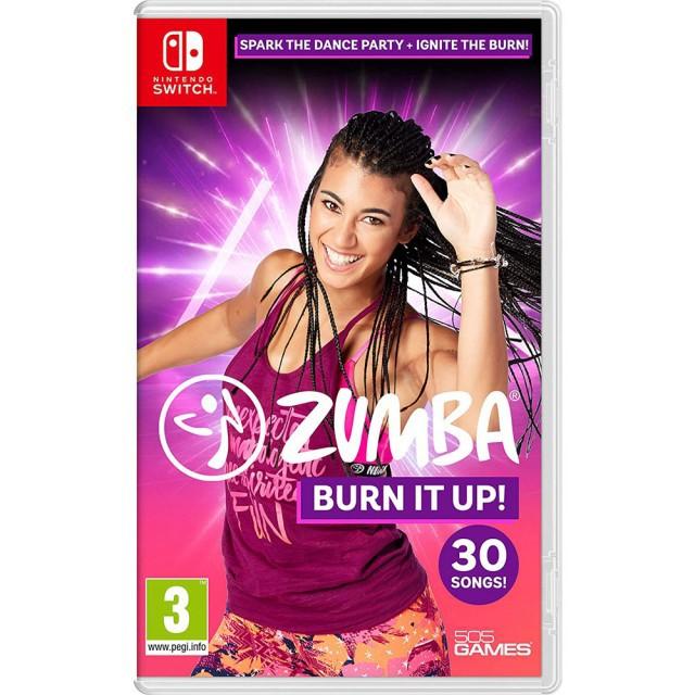 【Nintendo Switch】Zumba: Burn It Up! 脂肪燃燒!《中文版》
