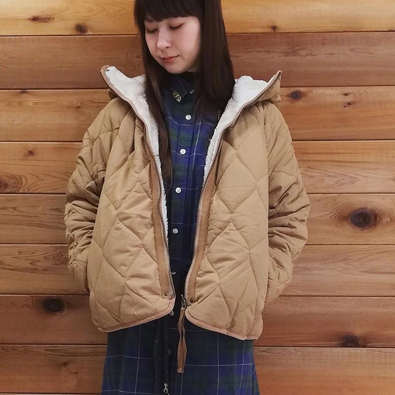 CRYSTAL BALL狗頭包 ( Reversible down coat時尚羽絨外套 )
