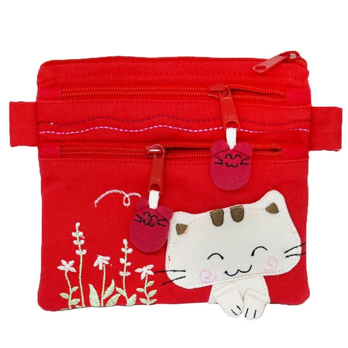 【特價】Melecat咪樂貓花園芬芳零錢收納包【HOZ-021】