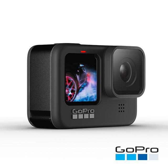 GoPro HERO 9 運動攝影機 雙螢幕 【eYeCam】含收納盒 5K  防震 網路攝影機 配件套組 記憶卡
