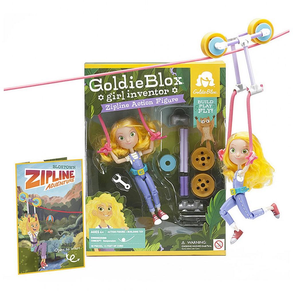GoldieBlox  滑輪芭比