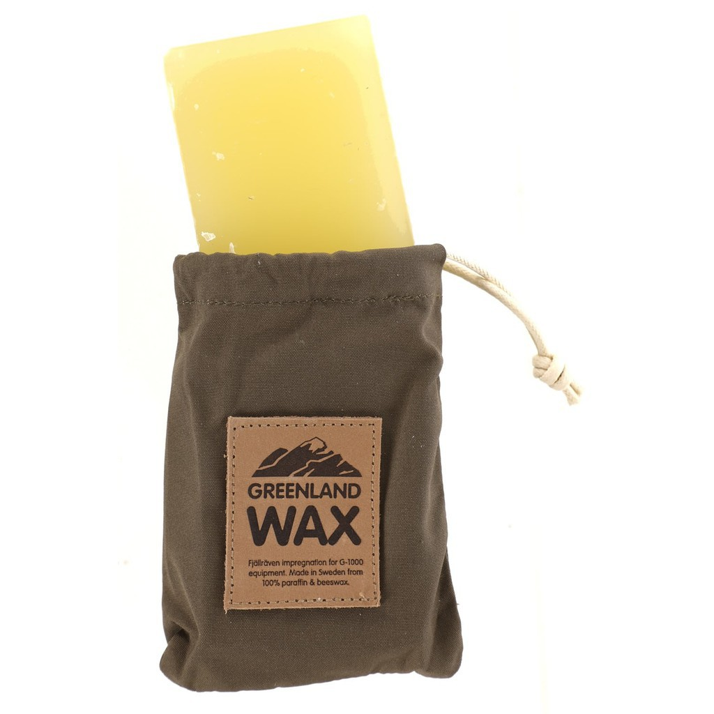 Fjallraven 北極狐 Greenland Wax Bag 蠟塊隨身收納袋 蠟塊+束口收納袋 79061 綠野山房